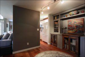 Side view kitchen entrance