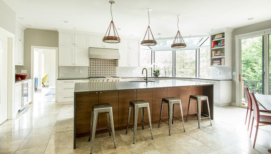 Luxury modern wooden kitchen cabinets