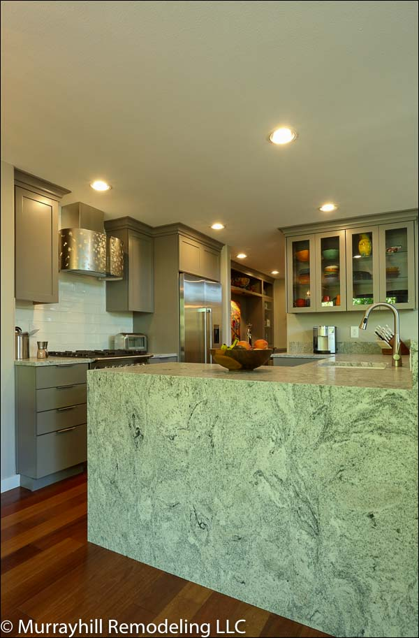 Fully marble kitchen